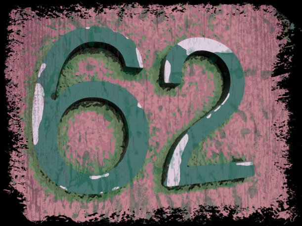 62 a magic number filled with possibility.