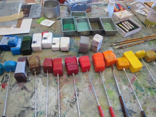 The World of Encaustic painting